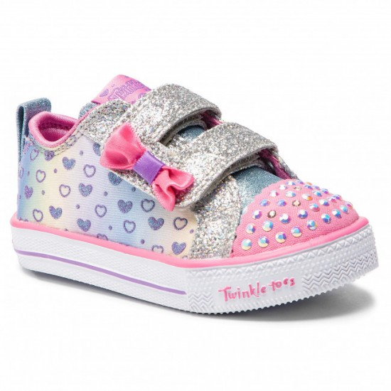 Skechers Twinkle Toes: Shuffle Lite - Sparkly Hearts