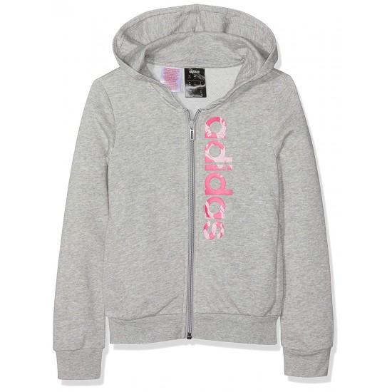 Adidas Essentials Linear Print Hoodie