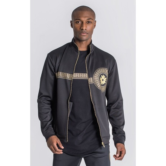 Gianni Kavanagh Black Golden Heart Jacket