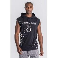 Gianni Kavanagh Black Spring Breakers Sleeveless Hoodie