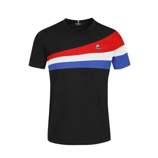 Le Coq Sportif T-shirt Tricolore
