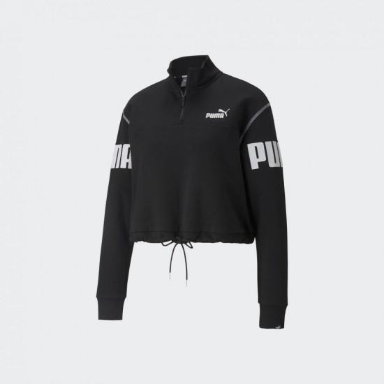 Puma Sweatshirt Power Half-zip Crew
